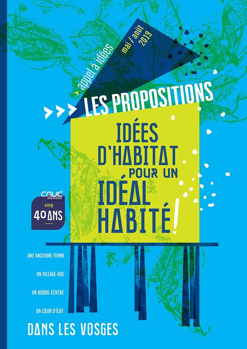 """Publication """"Idées d'habitat pour un idéal habité !"""""""